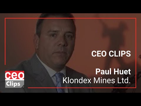 Paul Huet | Klondex Mines Ltd. | 36% Gold Growth Over Previous Year