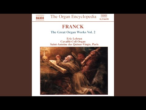 césar franck 6 pieces for organ arr h bauer fugue