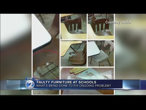 Teachers Say Hawaii Public Schools Plagued With Faulty Furniture, Equipment