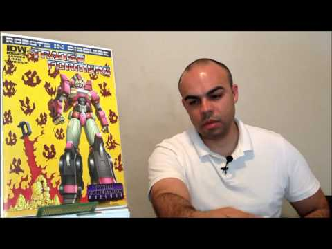 IDW comic review: Transformers, Robots in Disguise #18 (6/5/13)!