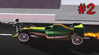 TURBO DISMOUNT [2] Симулятор аварий Игровой мультик про машинки Трюки Аварии и Столкновения Игра
