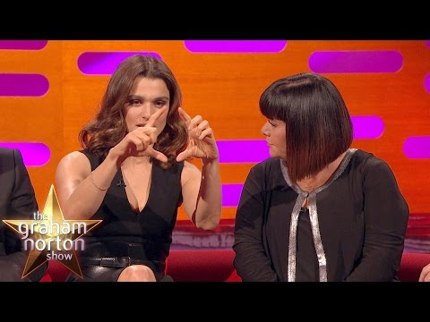 Rachel Weisz Talks About Daniel Craig's Big One  The Graham Norton