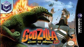 Longplay of Godzilla: Destroy All Monsters Melee