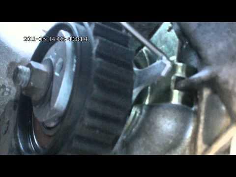 Citroen Berlingo 1.4 Замена ремня ГРМ и натяжного ролика