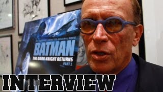 CoinOpTV - Batman Dark Knight Returns Peter Weller & Bruce Timm Interviews