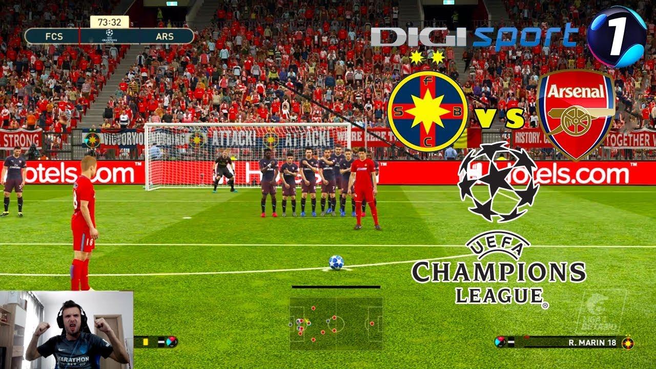 Download FCSB vs ARSENAL MECI DRAMATIC DECIS IN ULTIMA SECUNDA IN UCL - PES ROMANIA CARIERA CU FCSB #53