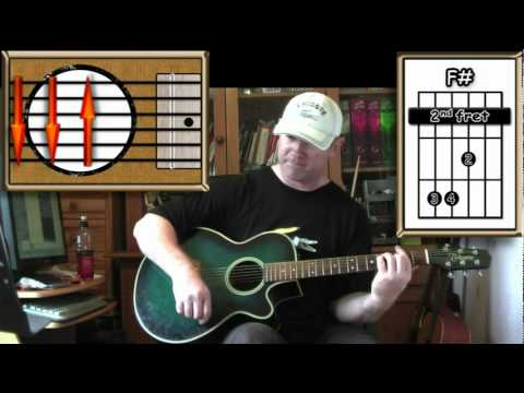 With A Little Help From My Friends - The Beatles - Acoustic Guitar Lesson