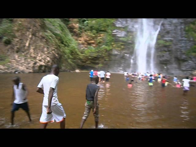 Wli Water Falls in Ghana