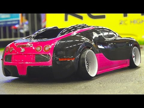 Mega Rc Drift Car Race Model Show Rc Bugatti Veyron Rc Bmw Rc