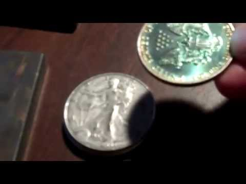 Condition based price of bullion rounds Silver Eagles damage Qik-tips scrap