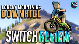 Lonely Mountains: Downhill Nintendo Switch Review-RIDE OR DIE (Video Game Video Review)