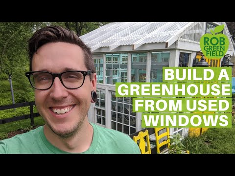How to Build a Greenhouse Using Second Hand Windows- A Tutorial