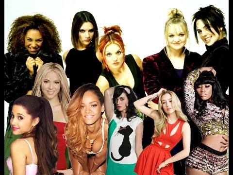 Spice Girls - 2 Become 1 (feat. Female Pop Singers)