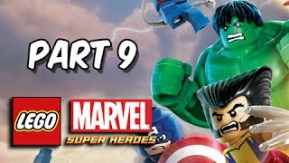 LEGO Marvel Super Heroes Gameplay Walkthrough - Part 9 Hulk vs Abomination Let's Play