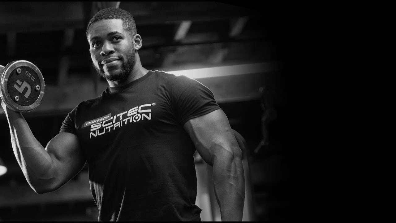 Scitec Nutrition Athlete Kyle Green - YouTube