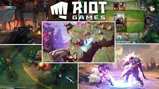 ANUNCIOS DE RIOT: LOL MOBILE | JUEGO DE CARTAS | SHOOTER | MMO | FIGHTING Y SERIE ANIMADA!