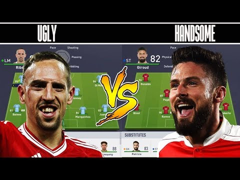 Thumbnail: THE UGLY TEAM 💩 VS THE HANDSOME TEAM 😍 ROASTED 🔥 FIFA 18 EXPERIMENT! FIFA 18 GIVEAWAY RESULTS!