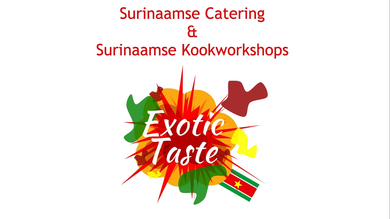 Ingredienten Surinaamse Keuken Surinaamse Catering Kookworkshops Exotic Taste
