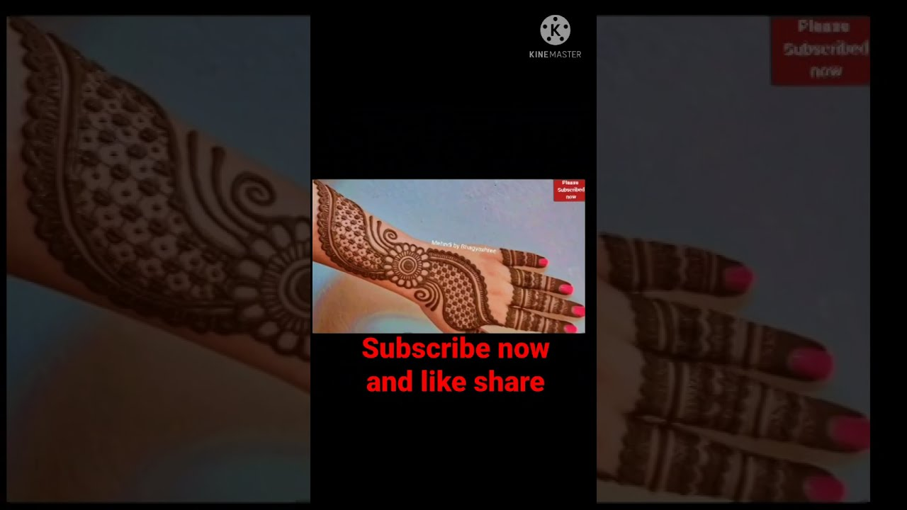 Download Mehndi Status For Whatsapp |mehndi design status | mehndi designs simple status | #short #shorts