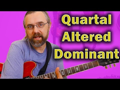 Quartal Harmony for Altered dominants - Modern Jazz Friends