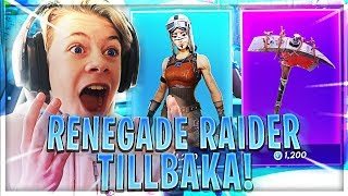 RENEGADE RAIDER & MORE * OG SKINS * COME BACK TO FORTNITE!!!!
