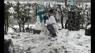 maen salju