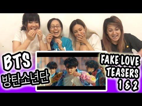 [KPOP REACTION] BTS 방탄소년단 -- FAKE LOVE OFFICIAL TEASER 1 & 2