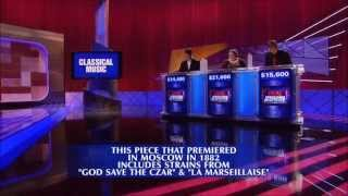 Final Jeopardy:Classical Music 7-11-13