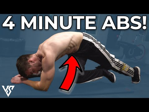 4 Minute Plank Workout for Stronger Abs