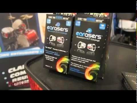 Earasers Hearing Protection at Summer NAMM 2014