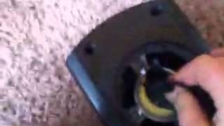 Blown gpx speaker