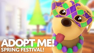 🌺 Spring Festival Pet Wear Update! 🌺 NEW PET ACCESSORIES! 🌿 Adopt Me! on Roblox