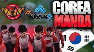 COREA YA HA LLEGADO A LOS WORLDS | SKT vs C9 | Resumen y Highlights