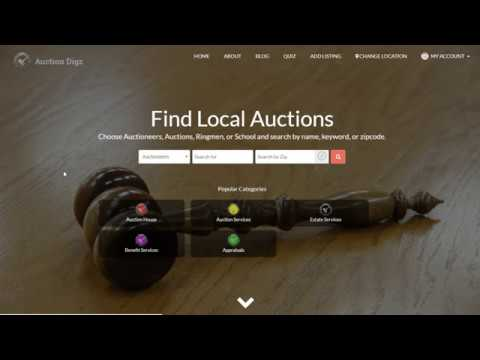 Linking Auctions To Business auctiondigz.com