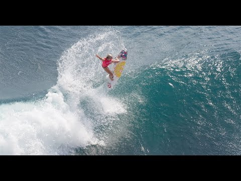 Bethany Hamilton's Amazing Air Reverse   A teaser from Unstoppable