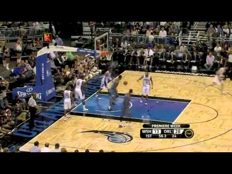 Wizards VS Magic 10/28/10 FULL HIGHLIGHTS *First Game Of 2010-2011 Season*