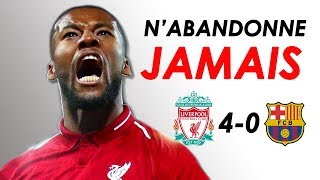 Liverpool vs Barcelona 4-0 - LE GRAND COMEBACK // H5 Motivation
