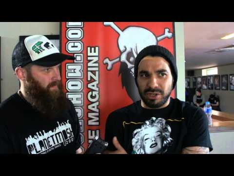 Suicide Silence Interview Impericon Festival 2015