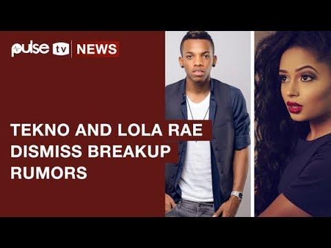 Tekno Dismiss Breakup Rumors With Lola Rae | Pulse TV News
