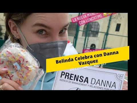 Belinda Celebra Junto a Danna Vasquez 19 años de Prensa Danna