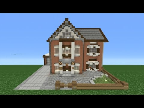 Minecraft Tutorial: How to Make My REAL LIFE House (British House)