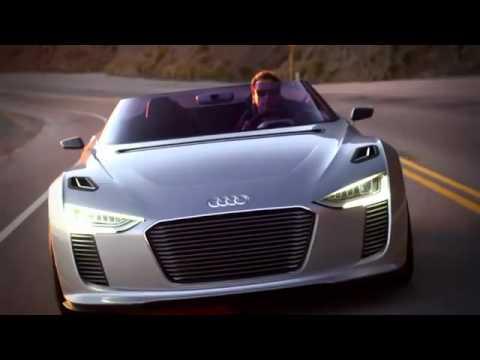 Em đẹp lắm Audi e tron Spyder 2012 mui trần OtoNhapkhau BanxeOto muabanoto BanxeVideo