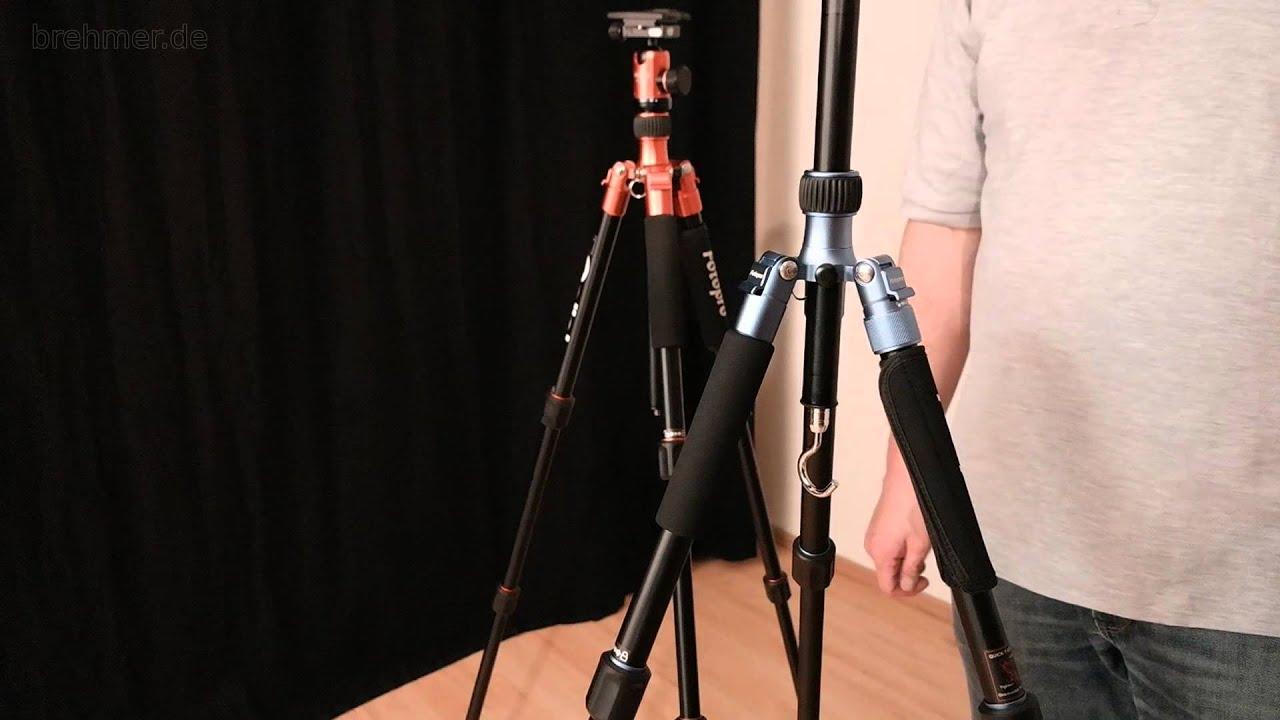 Fotopro C5i Stativ Von Rollei Unboxing Kurzreview Rezension Youtube Tripod C40i 53p