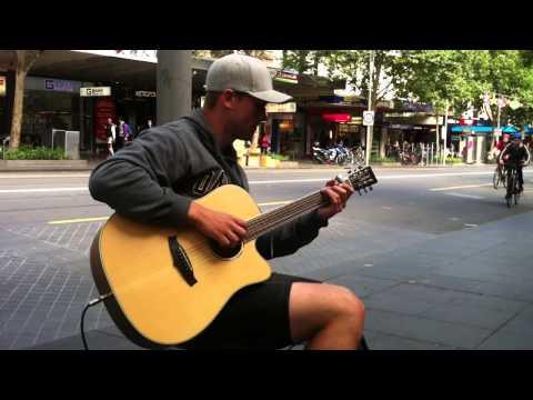All of Me - John Legend cover by Ben Jones (Melbourne Busker)