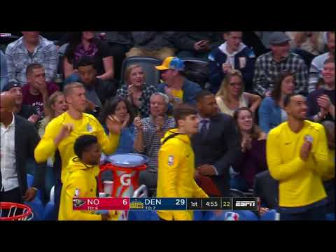 New Orleans Pelicans  vs. Denver Nuggets - November 17, 2017