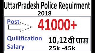 Uttar Pradesh Police में 42000 पदों पर भर्ती | 10,12 वी पास कर सकते है आवेदन || by Check Me Jobs