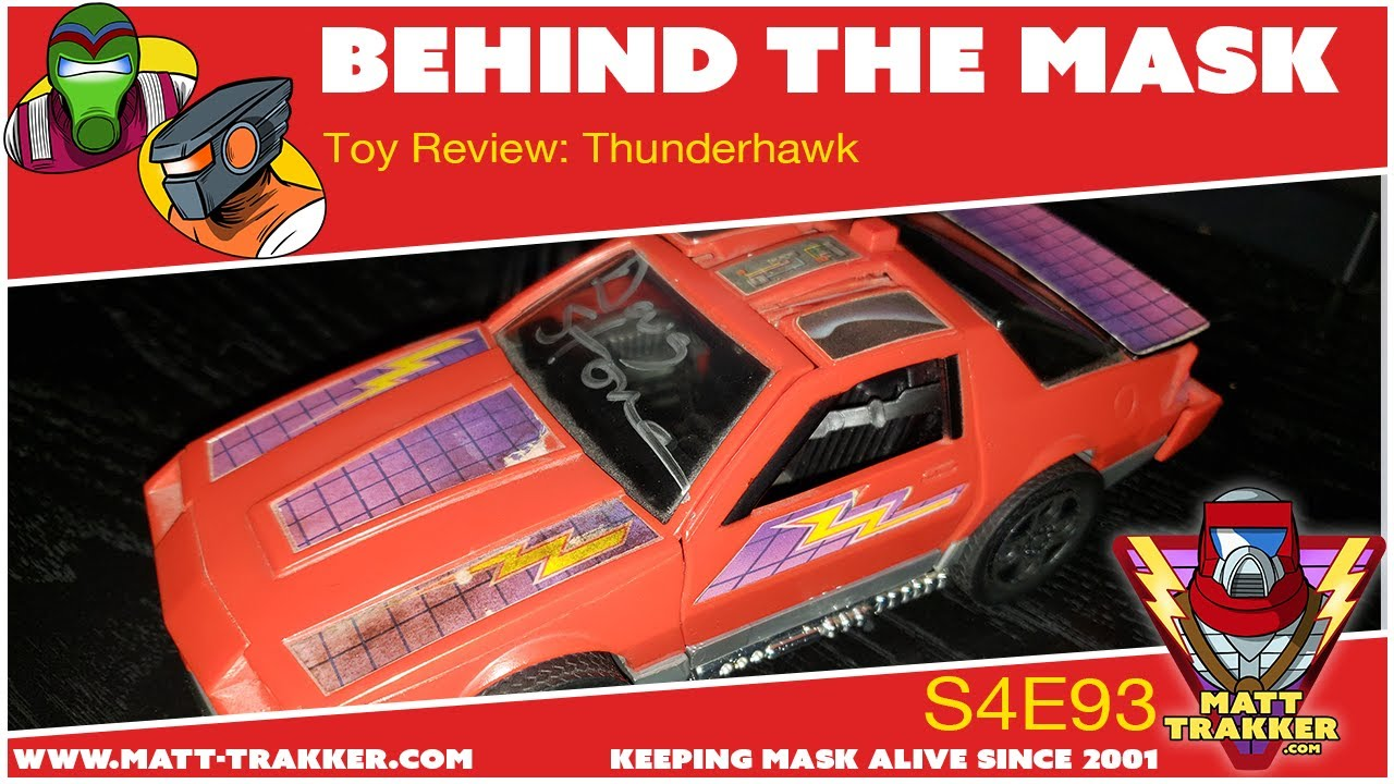 Toy Review: Thunderhawk - S4E93