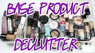 Makeup Declutter   Primer/Foundation/Concealer/Powder