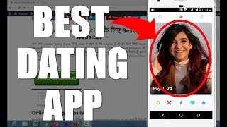 Best online dating apps in India 2017 || whisper app tutorial in hindi by DAVID LEO channel