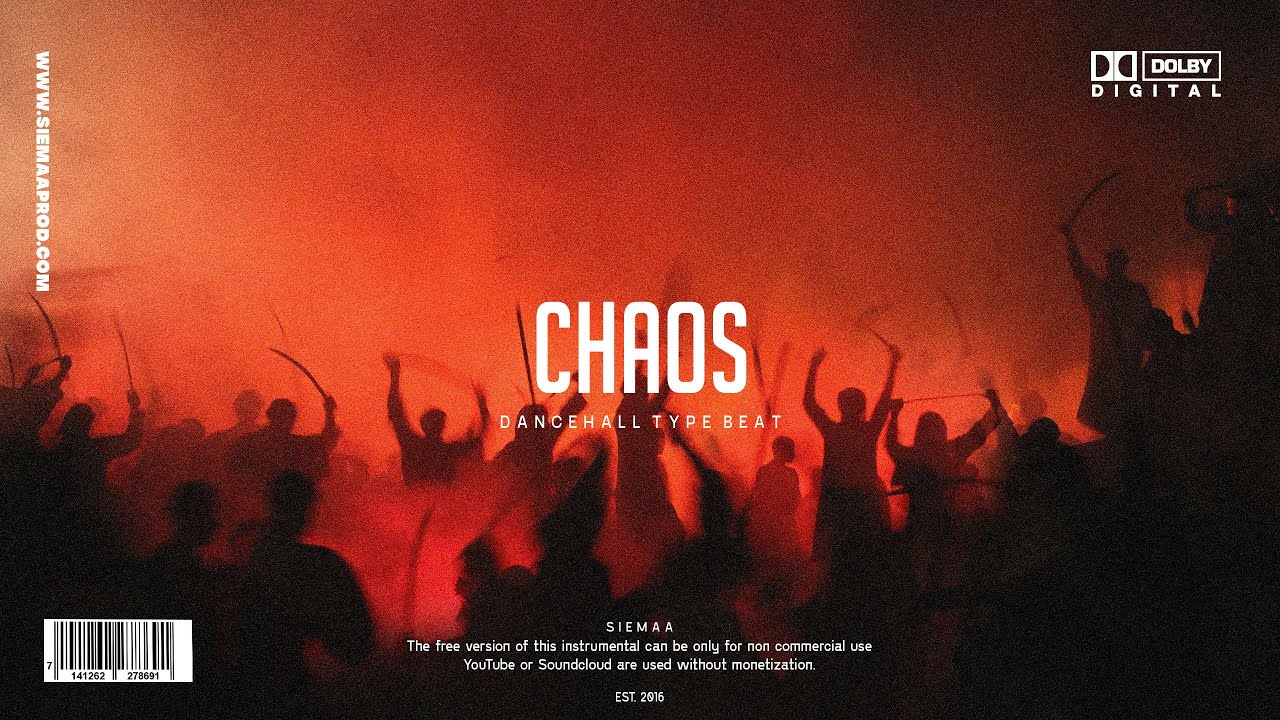 [FREE] Dancehall Riddim Instrumental 2021 ~ Chaos